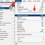 #MAC #Accélérer la vitesse d'écoute de vos PODCASTS avec #VLC like #OVERCAST