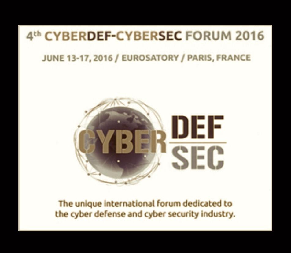 1st EUROSATORY CYBERDEF-CYBERSEC FORUM 2016